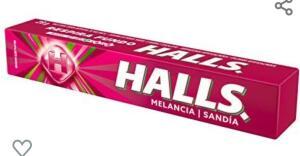[PRIME] Bala Melancia Halls Pacote 28g | Mínio 4 unid | R$1,07 cada