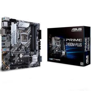 Placa-Mãe Asus Prime Z490M-Plus, Intel LGA 1200, mATX, DDR4 | R$ 950
