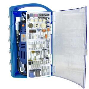 Micro Retífica PC150MD 150W 220V com 200 acessórios Dexter | R$280