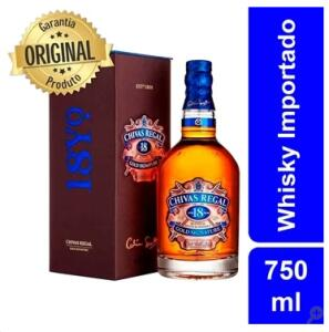Whisky Chivas Regal 18 Anos 750 ml | R$ 294