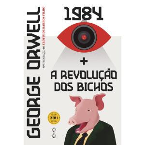 [PRÉ-VENDA] Livro: 1984 + A Revolução dos Bichos | R$42