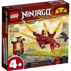 Lego Ninjago Dragão De Fogo Do Kai Original | R$96