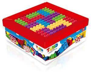 Tand Kids Super Caixa 120 Peças Toyster Brinquedos | R$75