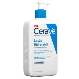 [AME R$35] Loção Hidratante Pele Seca e Extra Seca Cerave - 473ml | R$ 40