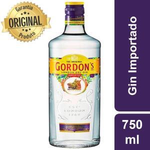 Gin Importado Garrafa 750ml - Gordons R$63
