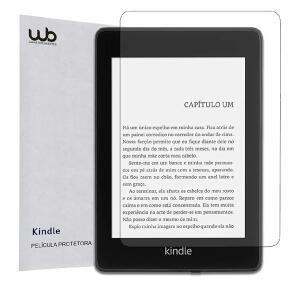 [PRIME] Película Novo Kindle Paperwhite à prova d'agua WB Fosca Anti-Risco Anti-Poeira Anti-UV | R$ 15