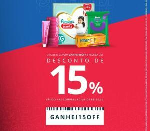 15% OFF EM COMPRAS ACIMA DE R$150 | Drogaria Onofre