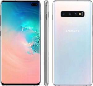 "[CUPOM + Ouro] Smartphone Samsung Galaxy S10+ 128GB Branco 4G - 8GB RAM Tela 6,4"" - R$2429"