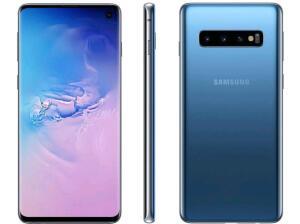 (Cupom + Ouro) Samsung Galaxy S10 128GB Azul - R$1970,19