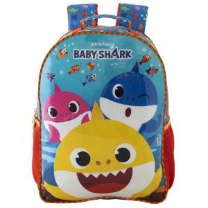 Mochila 16 Baby Shark R1   R$70