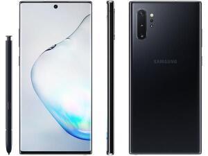 [C.OURO]+[ APP] Samsung Galaxy Note 10+ 256GB Preto 4G | R$3.023