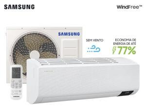 Ar-condicionado Split Inverter Wind-Free 12.000 BTU/h Quente e Frio - 220V | R$2.479