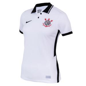 Camisa Nike Corinthians I 2020/21 Torcedora Pro Feminina   R$113