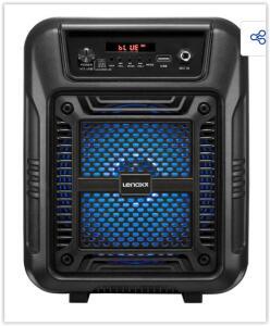 Caixa de Som Amplificada Lenoxx CA60 Bluetooth, Rádio FM, USB - 80W | R$ 116