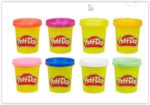 Massa para Modelar Play-Doh Hasbro Cores do Arco-íris - 8 Unidades | R$ 25