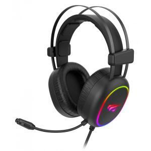 Headset Gamer Havit, RGB, Stereo, Black, H2016D | R$ 176