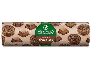 [App+Ouro] Biscoito Recheado Chocolate Piraquê - 160g | R$0,60