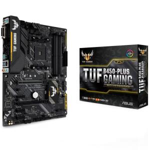 Placa-Mãe Asus TUF B450-Plus Gaming, AMD AM4, ATX, DDR4   R$683