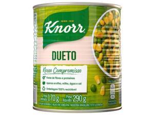 APP + Cliente Ouro | Milho e Ervilha em Conserva Knorr - 170g | R$1,40