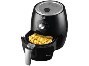 Fritadeira Elétrica sem Óleo/Air Fryer Nell Smart - Preta 2,4L com Timer | R$230