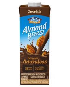 Bebida de Amêndoas Almond Breeze Chocolate 1L | R$10