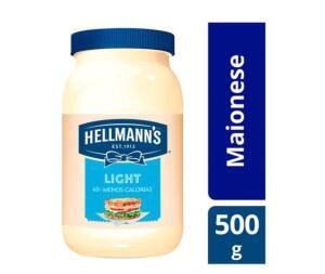 App + Cliente Ouro | Maionese Hellmann's light 500 gramas | R$2,99