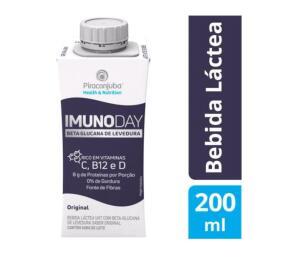 ( cliente ouro) Bebida Láctea Piracanjuba Imunoday Original 200ml | R$0,80