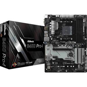 Placa Mãe ASRock B450 PRO4, Chipset B450, AMD AM4, ATX, DDR4 | R$769