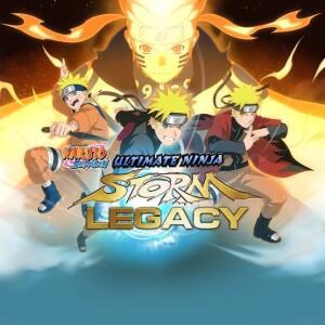 XBOX - NARUTO SHIPPUDEN: Ultimate Ninja STORM Legacy   R$75