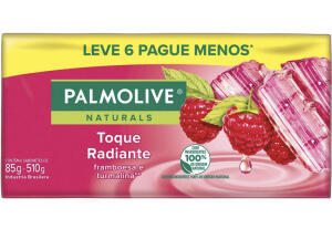 [PRIME] Sabonete em Barra Palmolive Naturals 85g - Leve 6 Pague 5 | R$6
