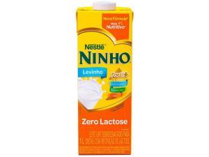 Leite NINHO semidesnatado zero lactose | R$4