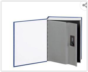 Cofre Livro Safewell RW802A - 1,3 Litro | R$ 104