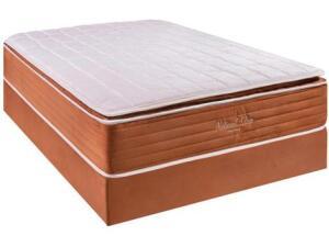 Cama Box Casal (Box + Colchão) Kappesberg - Mola Ensacada R$ 1348