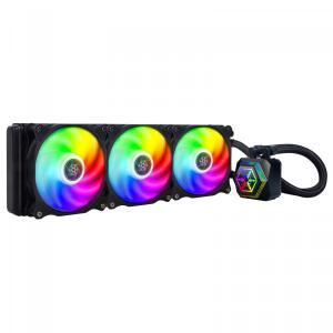 Water Cooler SilverStone PF360-ARGB, 360mm, Intel-AMD - R$689