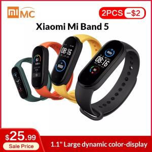 Pulseira Smart Xiaomi Mi Band 5 - R$140