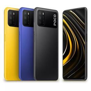 Smartphone Xiaomi POCO M3 4g/64gb ou 4g/128gb - R$737