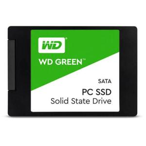 "SSD WD Green 240GB 2.5"" Sata III 6GB/s R$216"