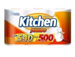 (7x de 3 unidades) Pepel toalha folha kitchen jumbo | R$92