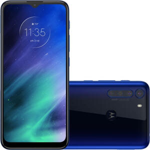 "Smartphone Motorola One Fusion Dual Chip Android Tela 6.5"" 128GB | R$1299"