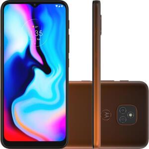 Smartphone Moto E7 Plus 64GB 4G Bronze Âmbar | R$983