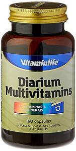 Diarium Multivitamínico - 60 Cápsulas, VitaminLife R$20