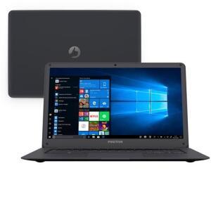 "Notebook Positivo Quad Core 2GB 32GB SSD Tela 14"" Windows 10 Motion Gray Q232 - R$1395"