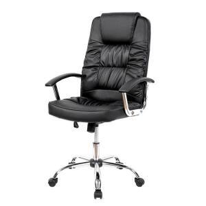 [AME R$425] Cadeira de escritório Presidente Denver Travel Max - Preto R$607
