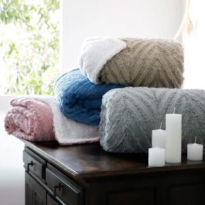 [AME por R$160] Cobertor Queen Sherpa 3D - Casa & Conforto | R$199