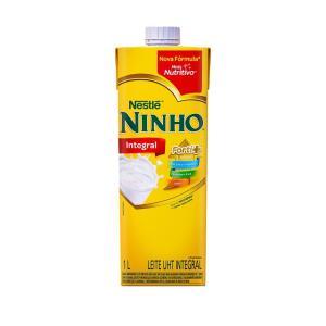 Leite Longa Vida Integral Ninho NESTLÉ 1 Litro | R$3,74