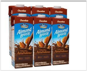 Kit Bebidas de Amêndoas Almond Breeze Chocolate 6x1L | R$ 30