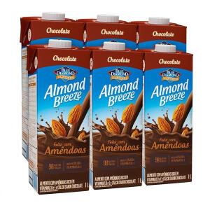 6x1L Almond Breeze Chocolate