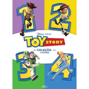 [Retirar na loja | Cidades selecionadas] Blu-ray - Toy Story - Coleção Completa (4 filmes) | R$20