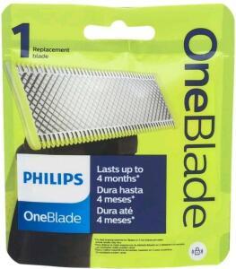 [Cliente Ouro] Lâmina One Blade para Barbeador Elétrico Philips | R$57