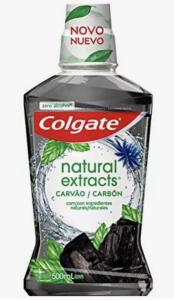 [Prime] Enxaguante Bucal Colgate Natural Extracts Carvão 500ml, Colgate | R$12